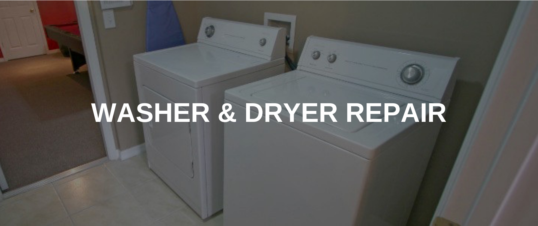 washing machine repair akron